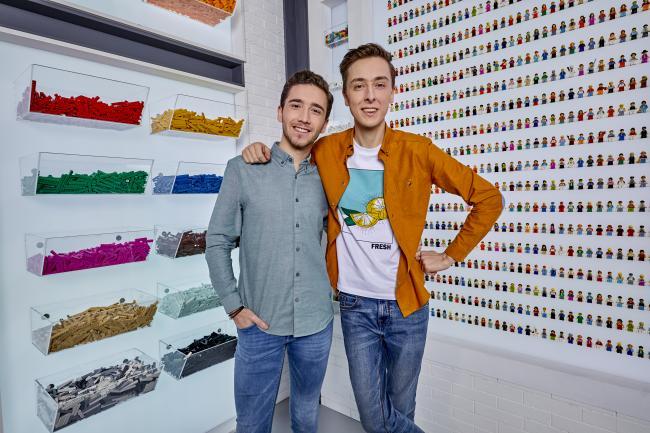 Lego Masters, Vlaams duo Andreas en Arno - © DPG Media