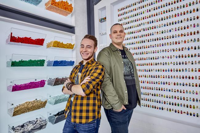 Lego Masters, Vlaams duo Björn en Corneel - © DPG Media