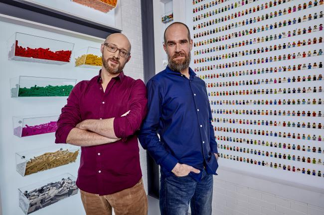 Lego Masters, Vlaams duo David en Giovanni - © DPG Media